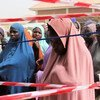 New arrivals in Teacher's Village in Maiduguri, Nigeria, after the attack in Baga at the end of December 2018.