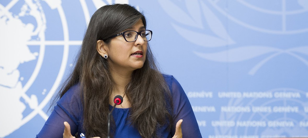 联合国人权高专办新闻发言人沙姆达萨尼。