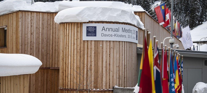 O encontro Anual do Fórum Económico Mundial realiza-se, como é tradição, em Davos, na Suíça.