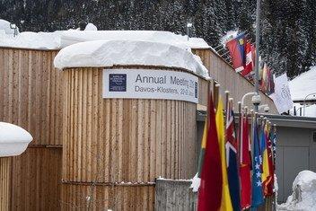 Reunión anual del Foro Económico Mundial en Davos