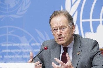 联合国日内瓦办事处总干事穆勒。