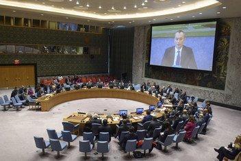 Nickolay Mladenov falou ao Conselho de Segurança por videoconferência