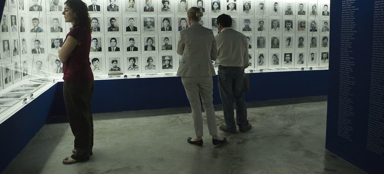 O Museu Comunitário da Memória Histórica em Rabinal, Guatemala, dignifica a memória das vítimas de assassinatos e desaparecimentos forçados na área