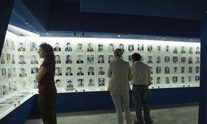 危地马拉拉比纳尔的历史记忆社区博物馆以庄严的方式纪念该地区的杀戮和强迫失踪受害者。 (资料图片)
