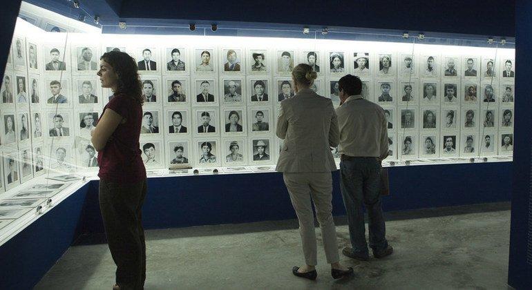 El Museo Comunitario de la Memoria Histórica en la localidad de Rabinal, en Guatemala, dignifica la memoria de las víctimas de asesinatos y desapariciones forzadas en la zona.