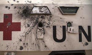 """Миротворческая миссия ООН в Мали - самая крупная и самая опасная. В субботу там было совершено уже второе нападение на """"голубые каски"""" в этом году. За месяц Миссия потеряла 13 человек."""