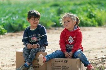 O Unicef lembra que com a queda das temperaturas, as crianças e suas famílias em toda a Síria não têm nada para se defender do frio.