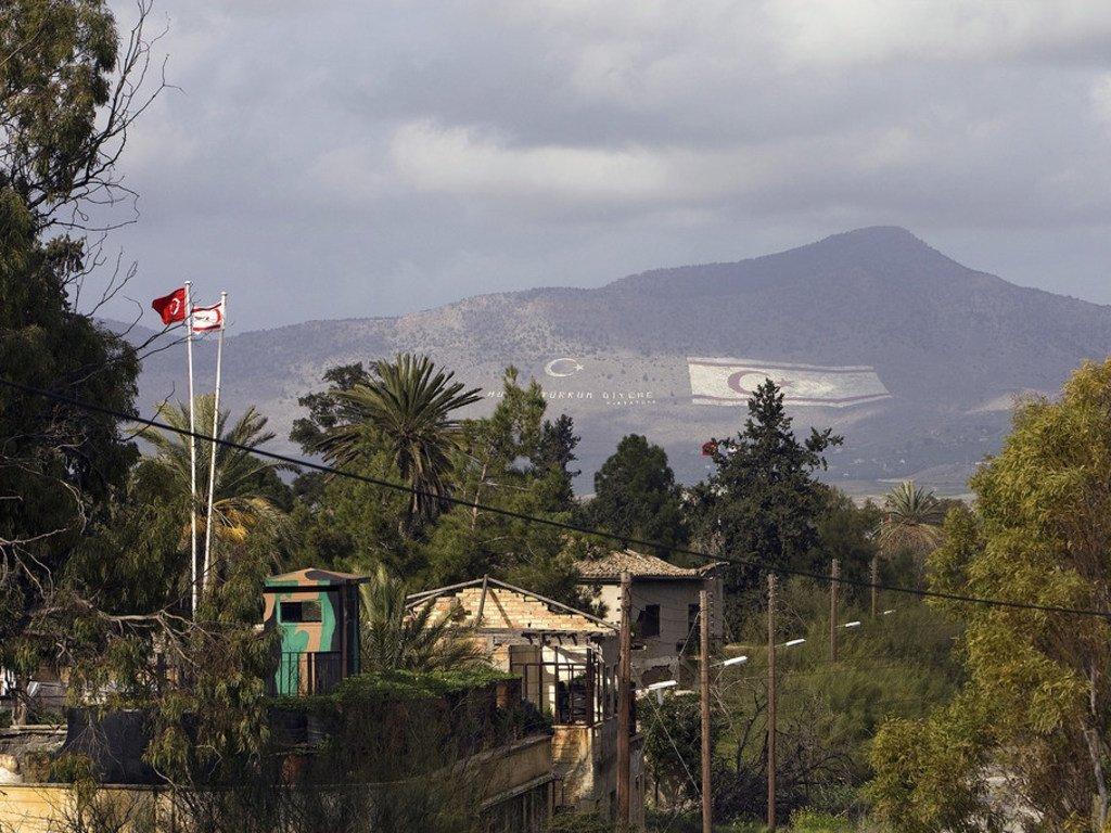 L'île de Chypre est divisée depuis 1974 et une force de l'ONU (UNFICYP) y est déployée (archives)