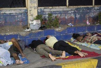 A maioria dos venezuelanos que fugiu continua na América Latina. Mais de metade vive na Colômbia, no Peru, no Chile, no Equador, na Argentina e no Brasil.