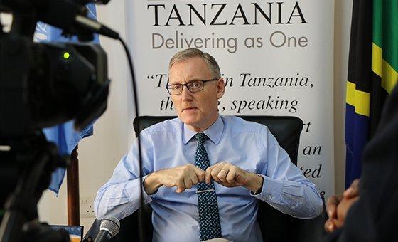 Coordenador residente da ONU na Tanzânia, Álvaro Rodriguez