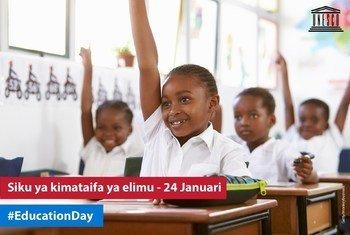 Siku ya kimataifa ya elimu na tarehe 24 Januari mwaka 2019, ni mara ya kwanza siku hii inaadhimishwa kufuatia Baraza Kuu la UN kupitisha azimio mwezi Disemba mwaka jana.