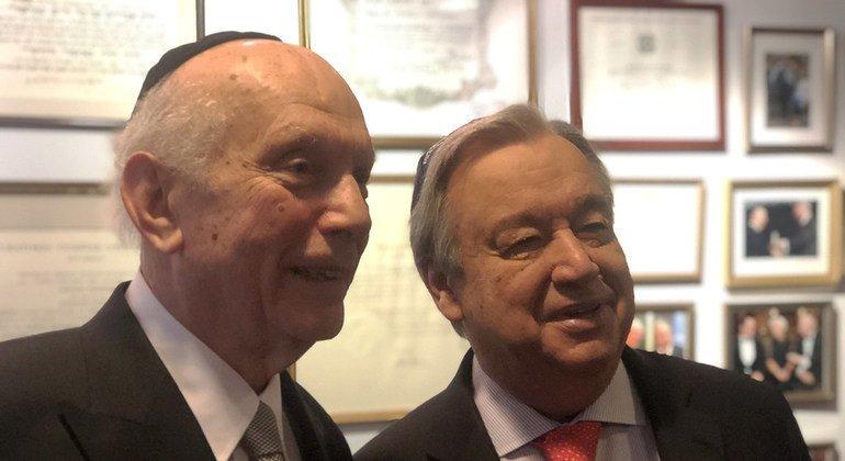 Aumentan el odio y la intolerancia en el mundo, alerta Guterres con motivo del día para recordar el Holocausto