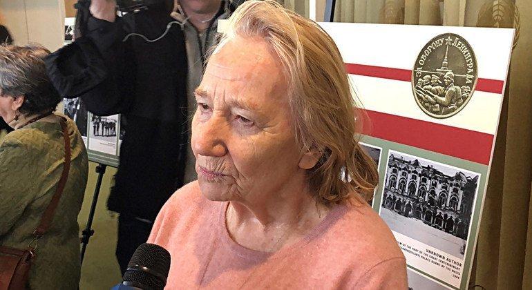 Нонна Гречанова пережила блокаду Ленинграда