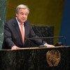 Secretario-geral, António Guterres, na Assembleia Geral