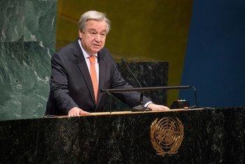 Глава ООН Антониу Гутерриш