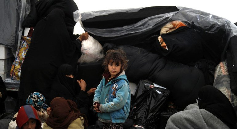 'Foreign children' in overwhelmed Syrian camp need urgent international help, says top UN official