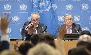Не красивых слов, а конкретных решений ждет глава ООН от мировых лидеров. Антониу Гутерриш провел пресс-конференцию в преддверии Недели высокого уровня на Генеральной Ассамблее ООН.