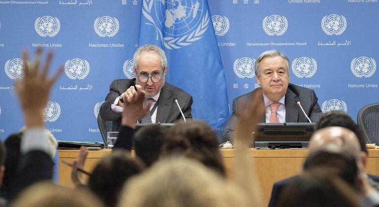 Guterres: La marca global más vendida hoy en día es el miedo