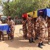 Ceremónia de homenagem aos soldados da paz do Chade