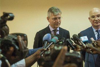 Jean-Pierre Lacroix e Smail Chergui vistam a República Centro-Africana entre 8 e 10 de janeiro.