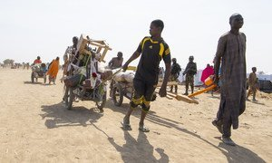 35,000 people have fled from Nigeria to Cameroon in the last two weeks of January to escape attacks by Boko Haram extremists. (1 February 2019)