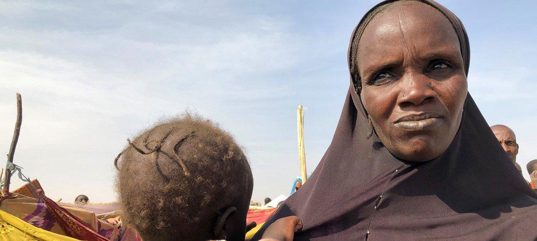 赫比比·图朱姆是继博科哈拉姆极端组织多次袭击后逃往尼日利亚东北部兰恩村的约3万5000人之一。