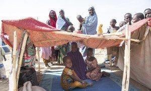 逃离博科哈拉姆恐怖分子的魔掌后,3万5000名尼日利亚人住在喀麦隆古拉的非正式难民定居点。( 2019年2月1日)