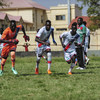 South Sudan Under-23 A and B football teams battled it out in a fierce competition for supremacy while also sharing messages of peace and unity with fans during a match in the capital, Juba, in 2019 (file photo).
