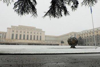 Sede da ONU em Genebra, na Suiça
