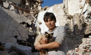 16-летний Мохаммед - один из жителей Бенгази. Вместе с родителями, братьями и сестрами он бежал от войны.