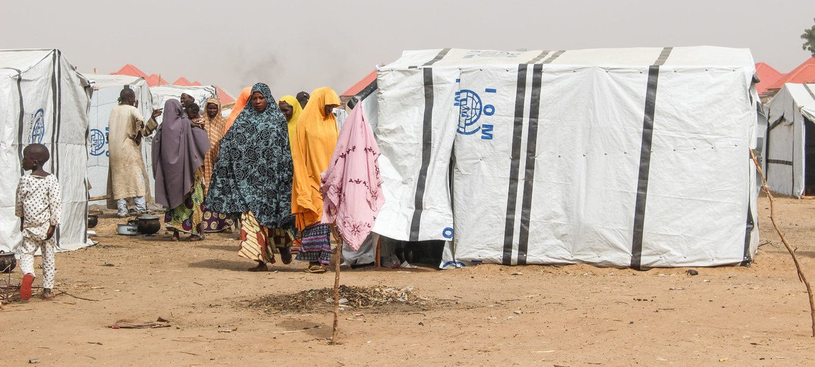 Gubio Camp in Maiduguri has received 4,500 new arrivals since November 2018, many of them in recent weeks following an attack by non-state armed groups in Baga, near the shores of Lake Chad, in north-east Nigeria.