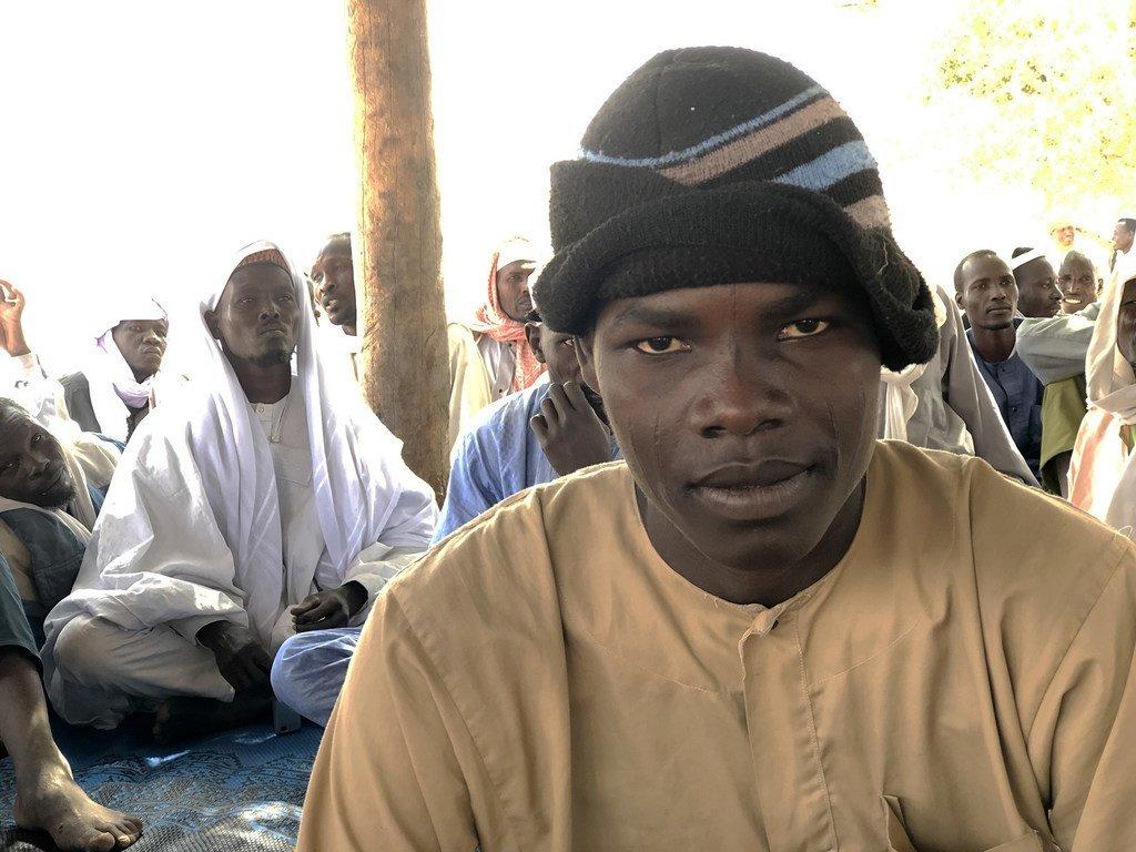 Kedra Abakar, 25 ans, a été enlevé à son domicile sur l'île de Ngomiron Doumou, au lac Tchad, par des extrémistes du groupe terroriste Boko Haram. (9 février 2019)