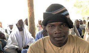 25岁的Kedra Abakar被博科哈拉姆恐怖组织的极端主义分子从他在乍得湖一个小岛上的家中绑架。(图片摄于2019年2月9日。)