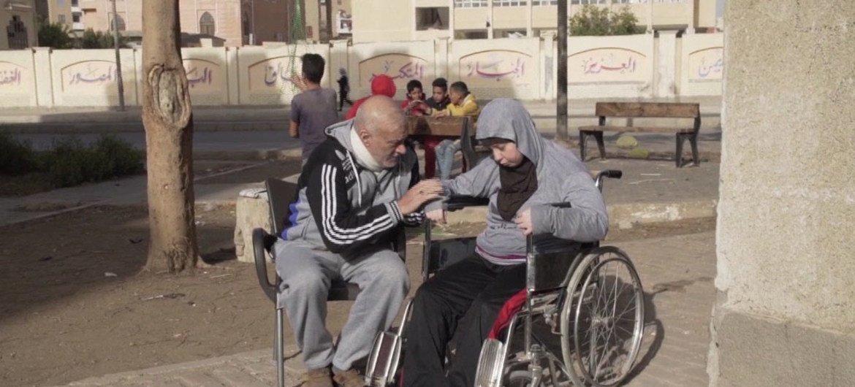 Existem1 bilhão de pessoascom deficiência no mundo