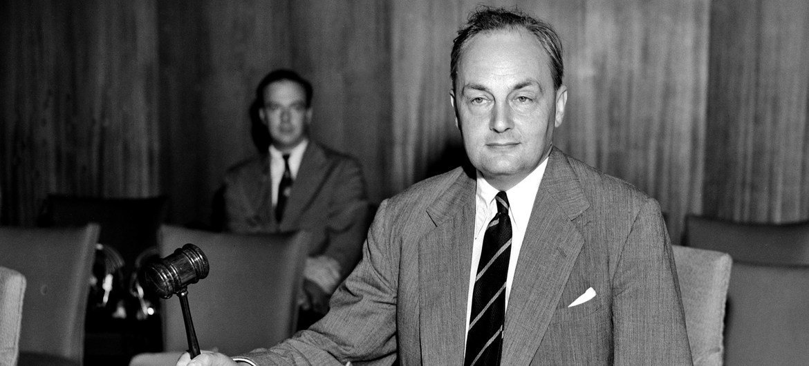 Gladwyn Jebb, who served as the Executive Secretary of the UN Preparatory Commission and then, from October 1945 to February 1946, as the Acting UN Secretary-General. He later served as the UK's Permanent Representative to the UN.