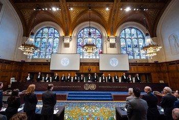 अन्तरराष्ट्रीय न्यायालय नीदरलैंड्स के हेग शहर में स्थित है.