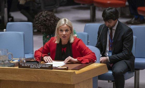 Representante especial da ONU no Iraque manteve encontros com vários manifestantes e autoridades locais.