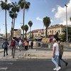 أحد شوارع مدينة القدس. 4 نوفمبر/تشرين الثاني 2018
