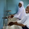 Students in Tanzania enjoy fresh water for drinking, washing and cooking.