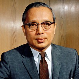 U Thant, the third Secretary-General of the United Nations.