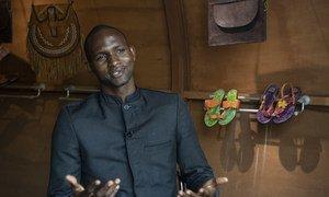 Mwanzilishi wa shirika la kiraia la IDP Goods Charlie Wandji
