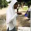 Before a UN Environment-supported rainwater harvesting project was set up at Kingani secondary school in the coastal town of Bagamoyo, the drinking water used to be so salty that students would complain of headaches, stomach aches and ulcers.