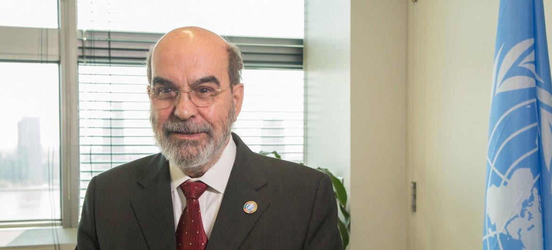 المدير العام لمنظمة الأغذية والزراعة، الفاو، خوسيه غرازيانو دا سيلفا.