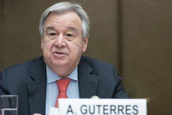 Guterres pediu a todos os líderes políticos para que rejeitem de forma clara e aberta o uso da violência.