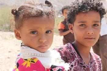 O Unicef informa que cinco crianças foram mortas há dois dias enquanto brincavam em casa durante um ataque no distrito de Tahita, no sul de Hudaydah.