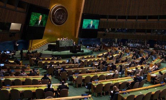 """Prefiro A Paz Mais Injusta à Mais Justa: Presidente Da Assembleia Geral: """"multilateralismo é O"""