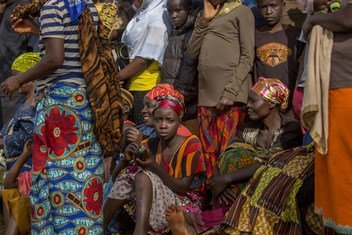 Un marché en Tanzanie où des réfugiés du Burundi et de la République démocratique du Congo sont en contact avec la communauté d'accueil dans l'ouest du pays.