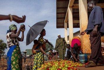 Беженцы из Бурунди и ДРК в Танзании.