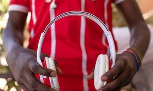 Mebratu also known as 'Tanki' by his friends, is a 16-year-old boy from Eritrea. Music is one his greatest passions. He loves to listen to Eritrean traditional songs in his headphones found on his journey to Niger.