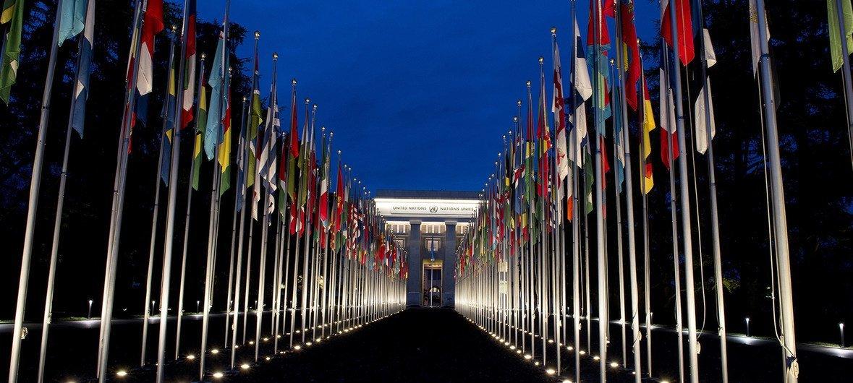 Штаб-квартира ООН в Женеве